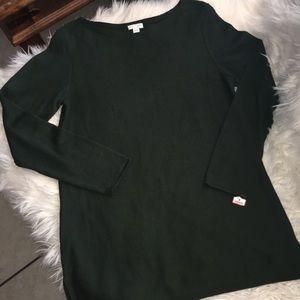 J Jill sweater tunic lightweight sz s NWT